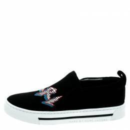 Marc by Marc Jacobs Black Suede GRRL Slip On Sneakers Size 35