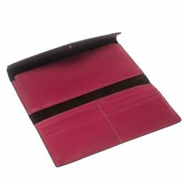 Cartier Pink Leather Les Must Envelope Trifold Wallet 159483