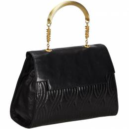 Fendi Black Quilted Leather Everyday Bag