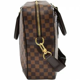 Louis Vuitton	 Damier Ebene Canvas Porte Documents Voyage GM Briefcase