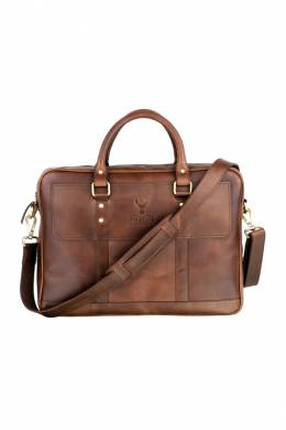 briefcase WOODLAND LEATHER BR3101_TAN