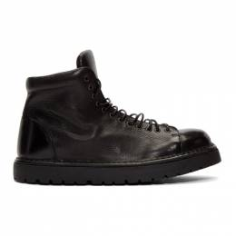Marsell Black Gomme Pallottola Pedula Boots 192349M25500903GB