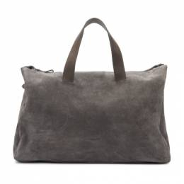 Marsell Grey Suede Monouso 0210 Duffle Bag 192349M16900101GB