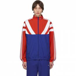 Adidas Originals Red and Blue BLNT 96 Track Jacket EE2338
