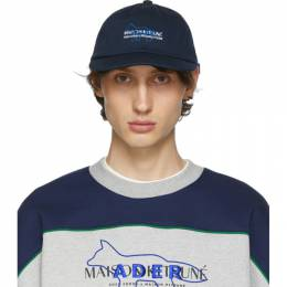 Maison Kitsune Navy ADER error Edition Kitsune Layout Cap 192389M13900201GB