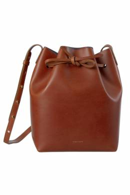 Mansur Gavriel Brandy Leather Bucket Bag 203956