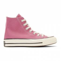 Converse Pink Chuck 70 High Sneakers 192799F12701209GB