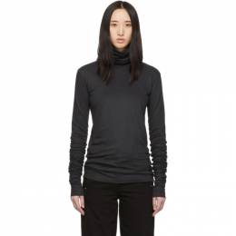 Lemaire Grey Jersey Turtleneck 192646F09900203GB