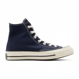 Converse Navy Chuck 70 High Sneakers 192799M23601314GB