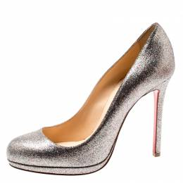 Christian Louboutin Multicolor Metallic Glitter New Simple Pumps Size 38 200815