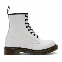 Dr. Martens White 1460 Boots 192399F11302604GB
