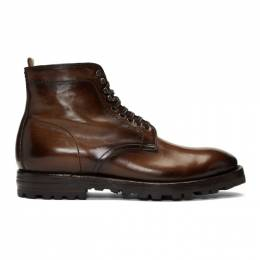 Officine Creative	 Brown Aspen 005 Boots 192346M25500702GB
