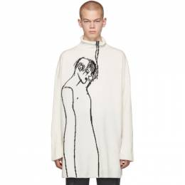 Loewe Off-White Keith Vaughan Edition Portrait Turtleneck H3299610CO