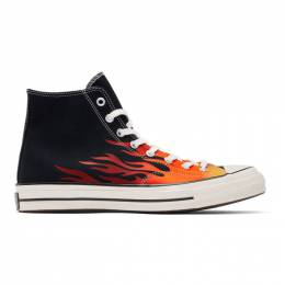 Converse Black Chuck 70 Archive Print High Sneakers 192799M23603014GB