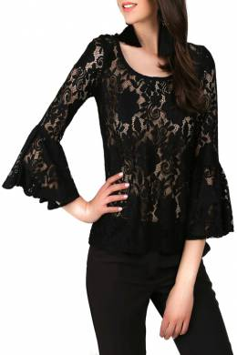blouse Foggy FG230_BLACK