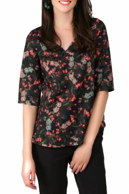 blouse Foggy FG233_RED_BUDS
