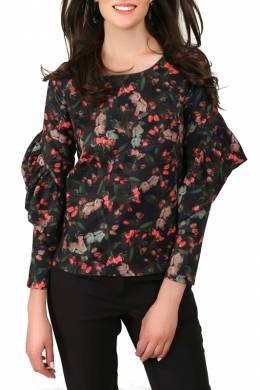 blouse Foggy FG239_RED_BUDS