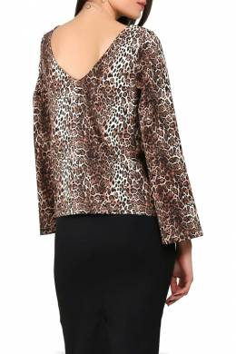 blouse Foggy FG241_WILD_PANTHER
