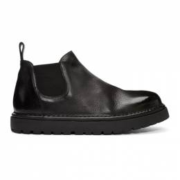 Marsell Black Gomme Pallottola Pomice 352P Chelsea Boots 192349M22300405GB