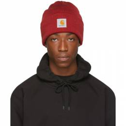 Carhartt Work In Progress Red Watch Beanie 192111M13801301GB