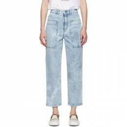 Stella Mccartney	 Blue Straight Leg Jeans 575963SNH08