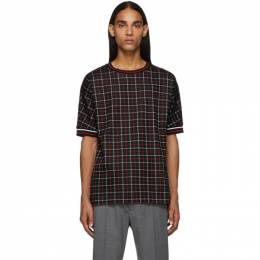 Paul Smith Black Tattersal Check T-Shirt M1R-687T-A00880