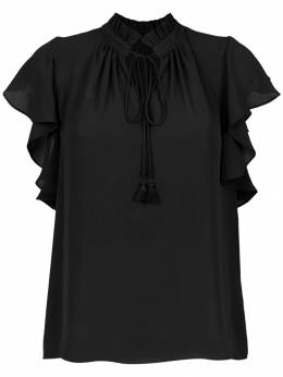 Olympiah Juli frill trimmed blouse 218201