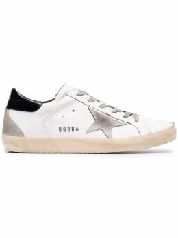 Golden Goose Deluxe Brand кроссовки 'Distressed White Superstar' GCOWS590W55