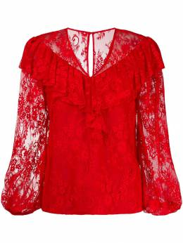 Three Floor - lace pattern blouse 39365335300000000000