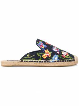 Tory Burch - Max embroidered espadrille sandals 93903308630000000000