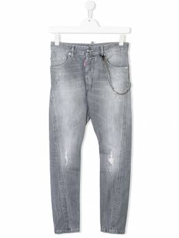 Dsquared2 Kids TEEN distressed jeans DQ02VDD00SK