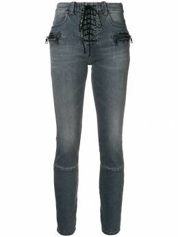 Unravel Project lace-up jeans UWYB011F182400101010