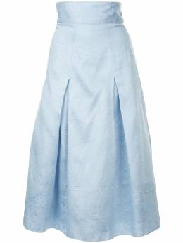 Bambah Georgia pleated midi skirt AW18BMFW1811