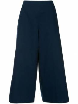 Delpozo pleated cropped trousers 3181506015