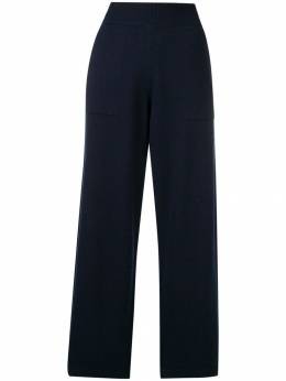 Barrie knitted flared trousers A00C57620