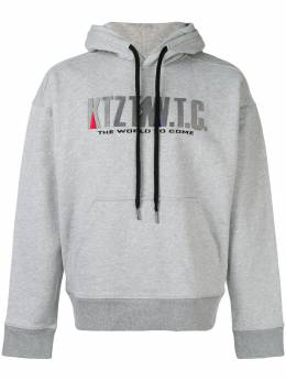 KTZ Mountain embroidered hoodie AW18HD03BGG