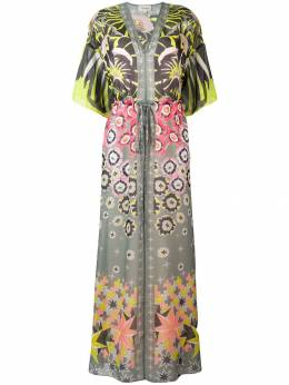 Temperley London - платье-туника 'Beaumont Claudette' с принтом BEU50996A93658009000