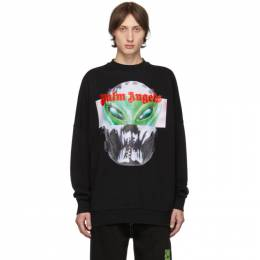 Palm Angels Black Alien Sweatshirt PMBA021E194410101088