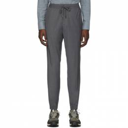 Z Zegna Grey Merino Wash and Go Trousers 192263M19100203GB