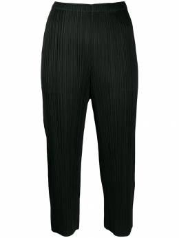 Pleats Please By Issey Miyake - укороченные брюки 8JF99695069369000000