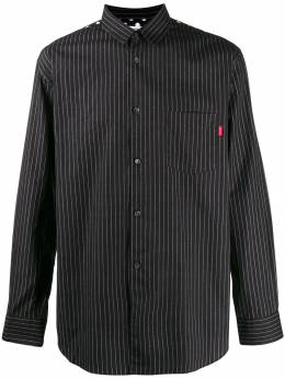 Supreme cdg pinstripe button up shirt SU3893