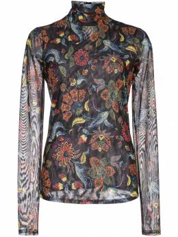 Cinq A Sept - paisley print turtleneck top 05B3933Z939339890000