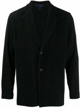 Lardini - ribbed single-breasted blazer JM56IL53666950999950