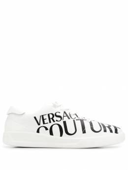 Versace Jeans Couture - logo print trainers UBSHI399669506363600