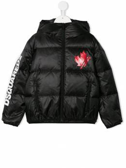 Dsquared2 Kids - padded hooded jacket 3NUD66WQ950589990000
