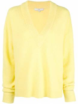 Tibi - oversized V-neck jumper 9AS66359506859600000