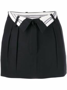 Alexander Wang - open waist mini skirt 09956369508659300000