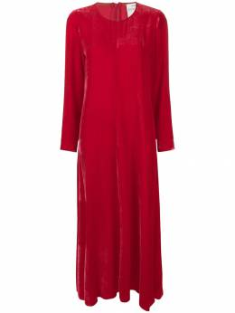Forte Forte - velvet long dress 5MYDRESS939363560000