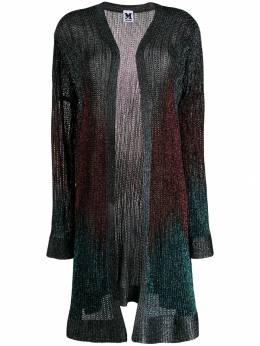 M Missoni - long ribbed cardigan 66550K6L369ABLUE9500