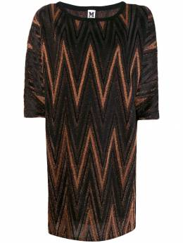 M Missoni - zigzag metallic shift dress 669590J666W950399060